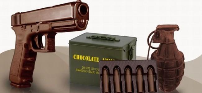 Шоколад как оружие